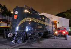 RailPictures.Net Photo: PRR 4877 Pennsylvania Railroad GG-1 at Boonton, New Jersey by Christopher Blaszczyk