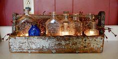 Old Bottle Display