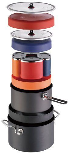 Pin it! :) Follow us :)) zCamping.com is your Camping Product Gallery ;) CLICK IMAGE TWICE for Pricing and Info :) SEE A LARGER SELECTION of camping pots and pans at http://zcamping.com/category/camping-categories/camping-cooking-and-food/camping-pots-and-pans/ - hunting, camping pots, camping pans, kitchen utensils, camping kitchen utensils, camping essentials, camping, camping gear - MSR Flex 4 System Cookset « zCamping.com