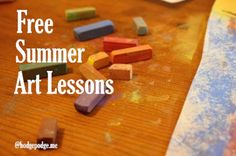 Free Summer Art Lessons at Hodgepodge