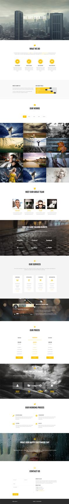 Oriolus - Responsive Onepage WordPress Theme ***TOO MUCH ANIMATION***