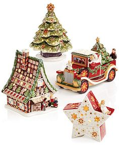 Villeroy & Boch Light Up Holiday Decor Collection