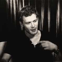 (Joseph Morgan .gif) STOP touching your lips, everyone! Seriously, stop it! Are you trying to kill me?