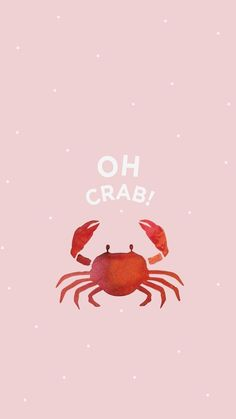 Wallpaper iPhone and Android Wallpapers: Pink Crab Wallpaper for iPhone and Android , - Life and hacks Whatsapp Wallpaper, Emoji Wallpaper, Iphone Wallpaper Summer, Cute Wallpaper For Phone, Animal Wallpaper, Cute Backgrounds, Cute Wallpapers Quotes, Iphone Backgrounds, Live Wallpapers