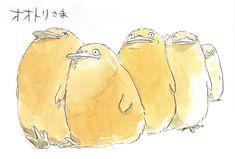 Studio Ghibli Concept Art   千と千尋の神隠し / Spirited Away (2001) - Character Design ...