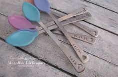 Hand Stamped Baby Spoons  29% off at Groopdealz