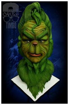 Edible Art. The Grinch. Well done! | CAKES BY TIMBO