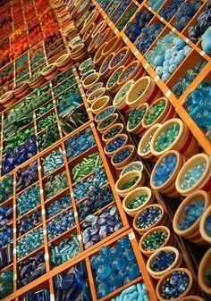 Unique & attractive bead organizers.
