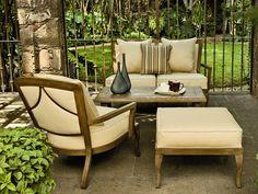 Check Out The Landgrave 83232C Veracruz Bench With Cushion   OUTDOOR  FURNITURE   Pinterest   Landgrave