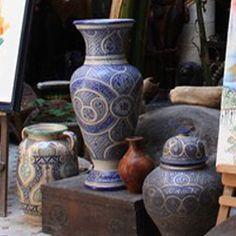 Guide D'orientation Du Maroc  Profond: Galerie  De  L'art Kasbah  a   Essaouira   Maroc