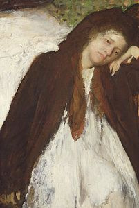 Melancholy Painting - The Convalescent by Edgar Degas