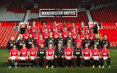 Manchester United 2014/15 squad photo