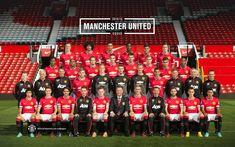 Manchester United 2014/15 squad photo