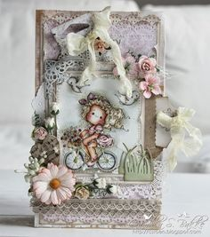 On the Road Tilda ♥ - Magnolia Cards by Camilla