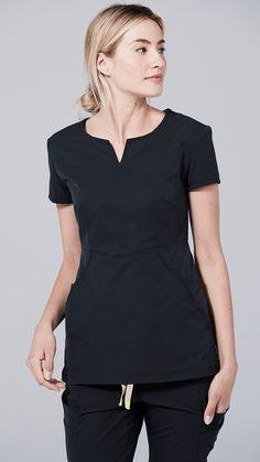 Scrubs - Medical Scrubs and Nursing Uniforms Black Scrubs, Medical Scrubs, Scrub Tops, V Neck, Pants, Shopping, Women, Style, Fashion