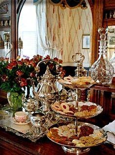 High Tea in Savannah