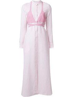 ROSIE ASSOULIN Striped Maxi Dress. #rosieassoulin #cloth #dress