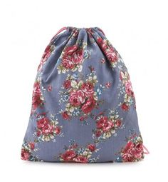 Bolso saco flores CREEKS Outlet, Drawstring Backpack, Backpacks, Style, Fashion, Winter, Spring, Sacks, Flowers