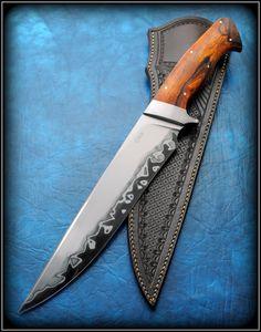 Camp knife Full tang by Claudio Sobral