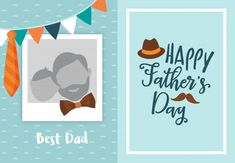 Happy Fathers Day Message, Happy Fathers Day Greetings, Fathers Day Messages, Father's Day Greeting Cards, Daddy Day, Stop Motion, Vector Background, Best Dad, Happy Birthday