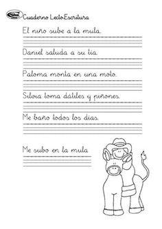 Cuaderno de lectoescritura i (1)(1) Fails, Education, Writing Ideas, Spanish, Classroom, Book, Crochet, Home, Learning Letters