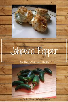 Stuffed Jalapeno Chicken Rolls - Cooking During Stolen Moments Frozen Appetizers, Jalapeno Popper Chicken, Frozen Pizza, Convenience Food, Turkey Recipes, Casserole Dishes, My Favorite Food, Appetizer Recipes, Main Dishes