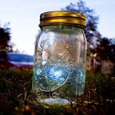 Flutterby Firefly Jar - A Twinkle-Twinkle Glow Worm Gadget