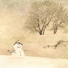 Snowman by Jane Crowther