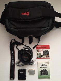 Canon EOS Rebel T1i 500D w/ Canon EF 50mm f/1.4 USM lens