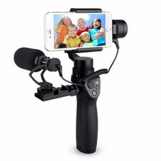 EACHSHOT COMICA CVM-VM10-II Kit Cardioid Directional Condenser Video Microphone Mic With Universal Mount for DJI OSMO Mobile Plus