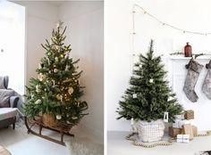 Escondendo a base da Árvore de Natal   Bangalô da Tati