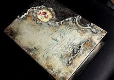 VK is the largest European social network with more than 100 million active users. Decoupage Box, Decoupage Vintage, Beauty Box, Book Making, Keepsake Boxes, Paper Art, Book Art, Mixed Media, Sculptures