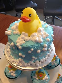 Rubber Ducky Baby Shower « Kathryn's Cake Shoppe