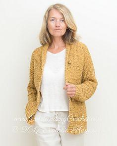 134 best crochet jackets cardigans tops images on pinterest women campfire cardigan pattern by natalia kononova fandeluxe Image collections