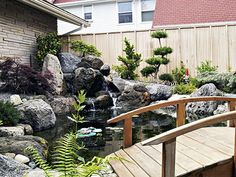 Japanese Water Garden  Koi Pond (site Has More Pics Of The Gardens Created) Part 72