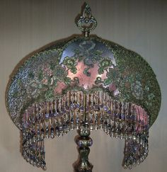 1000 Images About Antique Lamp Shades On Pinterest The Shade Floor Lamps And Fringes