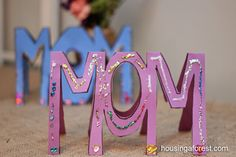 """Mothers Day Card that will """"wow"""" your mom ~ easy Mothers Day card for kids"""