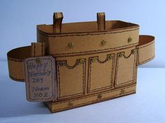 Tool Belt Box Card for father's day...just add treats and sentiments...
