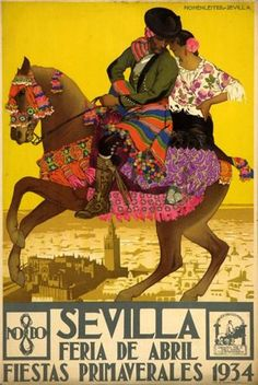 Sevilla Feria 1934