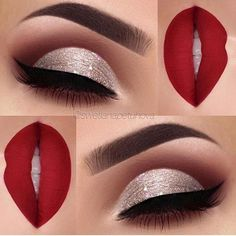 WEBSTA @makeupaddictioncosmetics We are obsessed with this look @swetlanapetuhova created with her Flaming love palette! ✨ Comment below if you'd try this look for the holidays!! . . . . . .