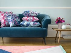Modern and Traditional upholstery designs, colorful pillows, bed spreads, all digitally printed to suitable fabrics for you. See more in www.fabric2print.com #Fabric2Print #FabricDesire #FabricArt #FabricDesign