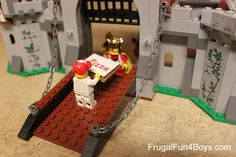 Unplugged play idea:  Take photos of funny Lego scenes!  Lots of ideas in this post.