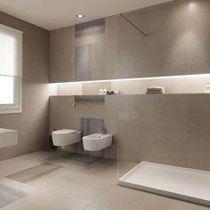 Below are the Badezimmer Fliesen. This article about Badezimmer Fliesen was posted under the Badezimmer category. Bathroom Tile Designs, Bathroom Layout, Bathroom Interior Design, Large Bathrooms, Small Bathroom, Master Bathroom, Contemporary Bathrooms, Modern Bathroom, Bathroom Grey