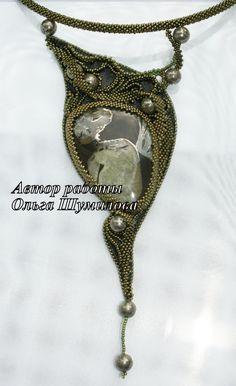 Seed Bead Necklace, Seed Bead Jewelry, Beaded Jewelry, Beaded Necklace, Stitch Crochet, Bead Crochet, Bead Embroidery Jewelry, Beaded Embroidery, Handmade Beads