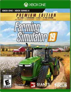 Farming Simulator 19: Premium Edition Xbox One Games, Ps4 Games, Grand Theft Auto, How To Know, How To Find Out, Game Gta V, Farm Online, Game Release Dates, Modern Farmer