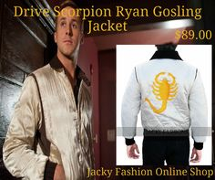 #Mens #Drive #Scorpion #RyanGosling #Replica #Jacket is Now available JackyFashions at #OnlineShop #Halloween #Special #Offer free Gift & Free shipping Worldwide,  #moda #amazing #pretty #model #dresses #vogue #Entertainment #events #casual #Fashionable #Fashion #Style #Designer #Fashionista #FashionBlog #FashionBlogging #Stylish #FashionStyle #Collection #Outfit #MenFashion #MenStyle #Male
