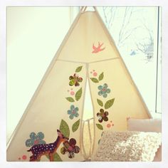 Canvas Play Tent by AshleyGabby on Etsy, $149.00 For Grandmama's house