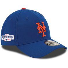 Men s New Era Royal New York Mets 2016 Postseason Side Patch 39THIRTY Flex  Hat 5b4abef224e