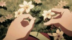 Anime Flowers GIFs on Giphy