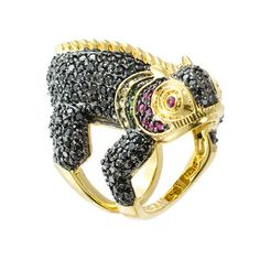 Iguana Ring now featured on Fab.